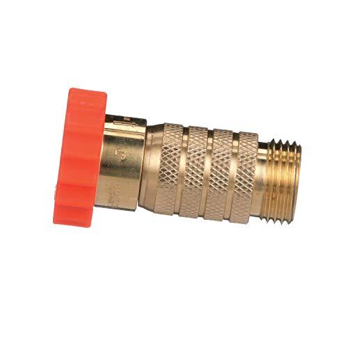 Valterra RV Hi-Flow Water Regulator, Lead-Free Brass Hi-Flow Water Regulator for Camper, Trailer, RV Plumbing System, 50-55 psi
