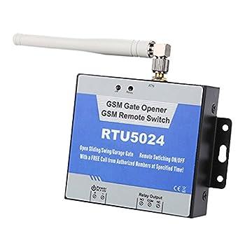 GSM Gate Opener Remote Relay Switch Garage Door Pump Light Fan Motor On/Off Wireless Controller RTU 5024