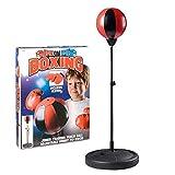 Toyrific Punching-Ball avec Gants de Boxe pour Enfant