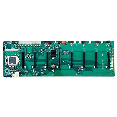 ShapeW A bordo B85 BTC Chipset VGA 8-GPU Bitcoin Motherboards para Miner LGA 1150 DDR3 SATA3 USB3.0 Bitcoin Mining Mainboard