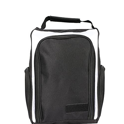 shiftX4 Bolsa de zapatos de golf para calcetines, camisetas y otros accesorios de golf con cremallera para zapatos con ventilación y bolsillos exteriores