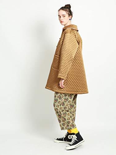 『[ビームスボーイ] コート キルティング チャイナ コート レディース キャメル Free Size』の3枚目の画像