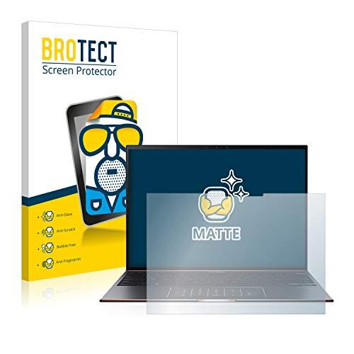 BROTECT Entspiegelungs-Schutzfolie kompatibel mit Asus ZenBook S UX393EA Bildschirmschutz-Folie Matt, Anti-Reflex, Anti-Fingerprint