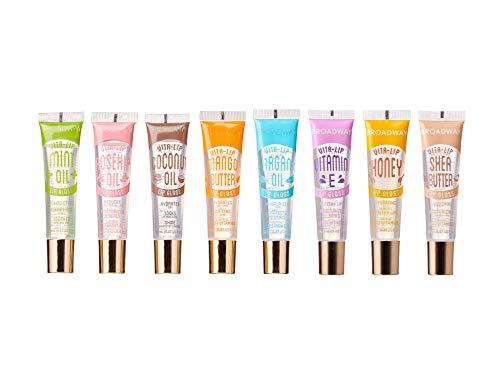 Broadway Vita-Lip Clear Lip Gloss 0.47oz/14ml (8 PCS SET)
