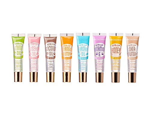 Broadway Vita-Lip Clear Lip Gloss 0.47oz/14ml (8 PCS SET)