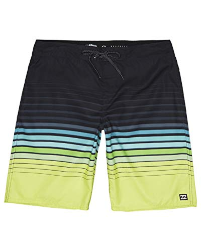 BILLABONG Boardshorts All Day Stripe OG Lime 28