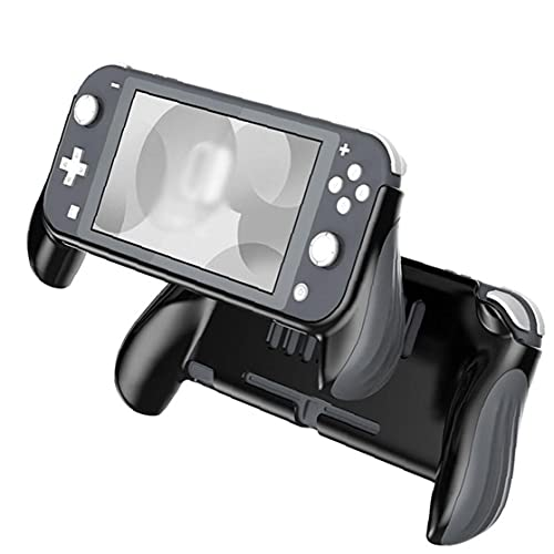 Protector case Nice Grip Case Compatible with Nintendo Switch Lite Protective Cover with Ergonomic Handles Black Grey
