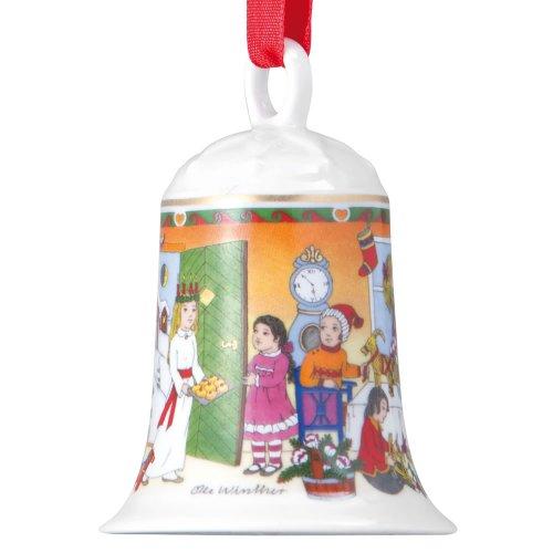 Hutschenreuther 02250-722808-27920 Porzellanweihnachtsglocke Luciafest 2011 im Geschenkkarton
