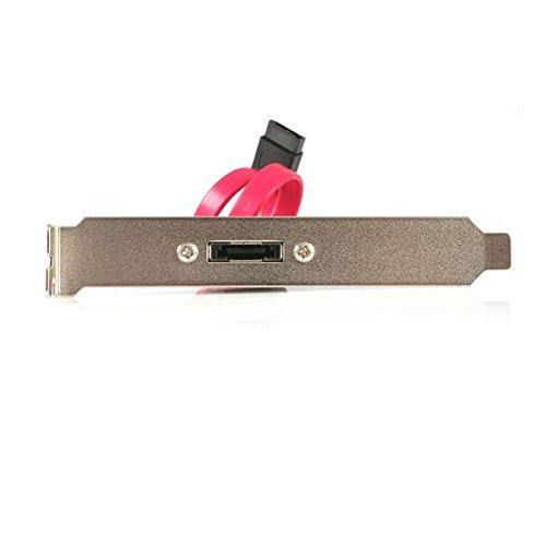 STARTECH.COM eSATA Cable with External Slot Plate - eSATA Cable with External Slot Plate