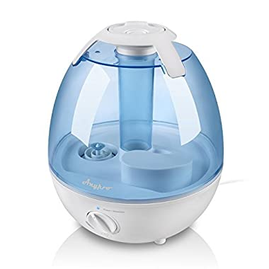 Ultrasonic Cool Mist Humidifier - Anypro Mist Humidifiers for Bedroom Ultra Quiet Air Humidifiers with 6 Optional Night Lights Multi Mist Modes Cool Mist Humidifiers for Baby Home, Filter Free (3.5L)