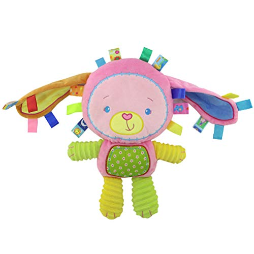 Baby Beschwichtigen Puppe Plüsch Rasseln Spielzeug, Creamon Baby Beschwichtigen Puppe Plüsch Tier Hand Glocken Rasseln Spielzeug Neugeborenen Jungen Mädchen Spielzeug Geschenke 002#