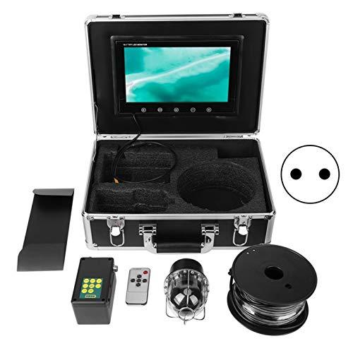Tomanbery Cámara Domo IP68 Sistema de vigilancia subacuático subacuático de 10 Pulgadas con 20 Luces(European regulations)