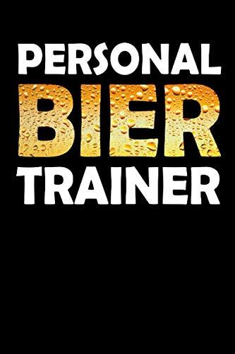 Trainer Notizbuch Personal Bier Trainer: Dot Grid Journal oder Notizbuch (6x9 Zoll) mit 120 Seiten