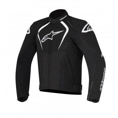 Alpinestars Men's T-Jaws V2 Waterproof Motorcycle Jacket, Black, Medium
