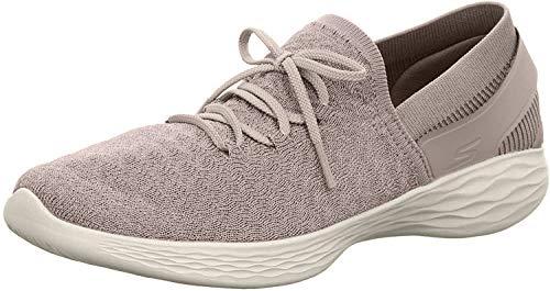 Skechers Beginning Taupe Womens Walking Shoe Size 11M