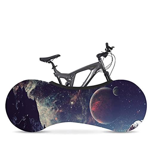 Cubierta Protectora de Bicicletas MTB Bike Bike Protectora a Prueba de rasguños Evitar Ruedas Marco Mountain Bolsa de Almacenamiento Accesorios,G,160 * 55cm