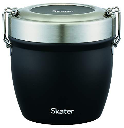 スケーター保温 丼ぶりステンレス弁当箱830ml STLBD8 ブラック
