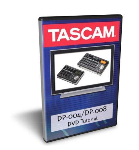 Tascam Tutorial DVD für DP-004 und DP-008 Recorder