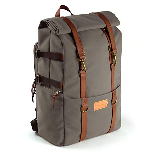 Property Of - Karl Rucksack Reisetasche Braun Eco Backpack 44 Liter
