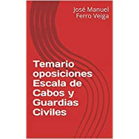 Temario oposiciones  Escala de Cabos y Guardias Civiles