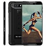 CUBOT Quest Rugged Smartphone 5.5 Pollici Corning Gorilla 5th, 4GB + 64GB, Impermeabile IP68, Android 9, Octa-Core 64 bit, 4000mAh Type-C Ricarica Rapida Face ID NFC, 4G Cellulare Nero