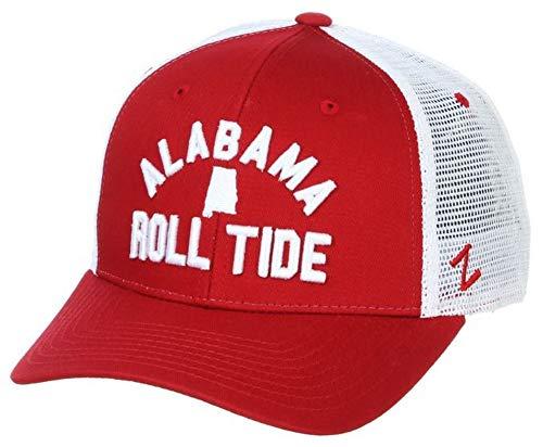 Zephyr University of Alabama Juncture Crimson Role Tide Hat Ball Cap Adjustable