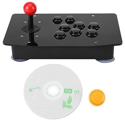 Nullverzögerung Game Controller für Arcade, 8 Richtungs Joystick, Geeignet für Sport-, Renn- und Kampfspiele usw.
