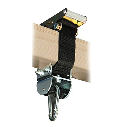 Flexible Bandschelle bis Ø16 cm oder 45 cm Umfang mit MARATHON Rollengelenk