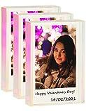 WINKINE Instax Mini Frames 3 Pack, Rainbow Self Standing Polaroid Picture Holder Polaroid Picture Frames for Home & Office Decor, Desktop Sliding Mini Photo Frames for Fujifilm & Polaroid Film