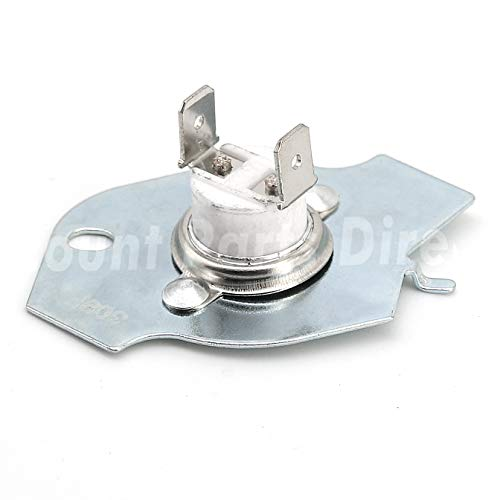 Ultra Durable 3977393 Thermal Fuse Thermal Cut-off Switch replacement for Whirlpool Kenmore Maytag dryers, Replaces 3399848 AP3094244
