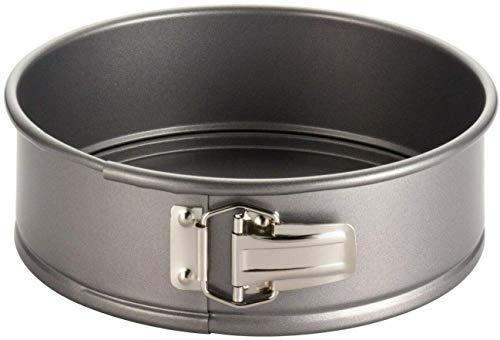 KitchenAid Springform Ø 24 cm Backform mit Antihaftbeschichtung Runde Tortenform Kuchenform mit Flachboden Rund Klein Set Baking Pan Kleine Cake Form 24 18 20 28 26 22