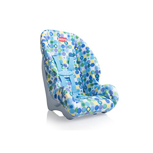 Joovy Toy Booster Seat, Doll Accesory, Multi-doll Design, Blue Dot