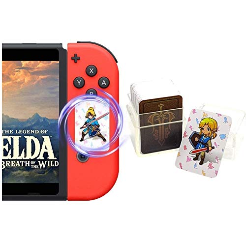 24 tarjetas NFC de The Legend of Zelda Breath of The Wild (BOTW), Link's Awakening, Zelda recompensas de juego para Switch/Lite y Wii U