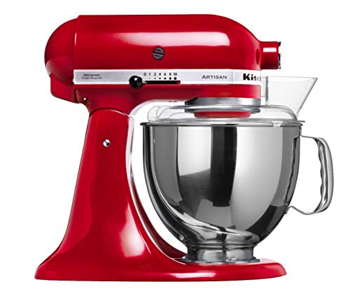Batedeira Stand Mixer Artisan Kitchenaid Kea33cv Empire Red 110v