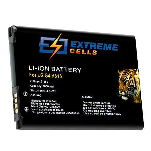 Extreme cells Batería para LG G4 Dual SIM G4 Dual LTE H810 H811 equivalente a BL-51YF mAh Battery