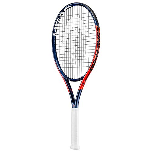 HEAD Unisex – Erwachsene Challenge Lite Tennis Racket, orange, 2