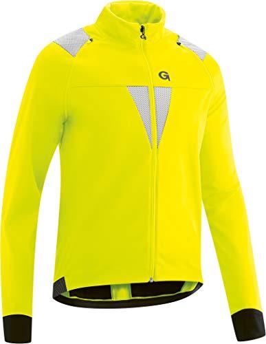 Gonso Herren Asson Jacke, Safety Yellow, L