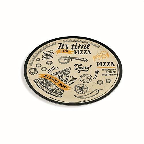 Villa dEste Home Tivoli - Plato para pizza de porcelana