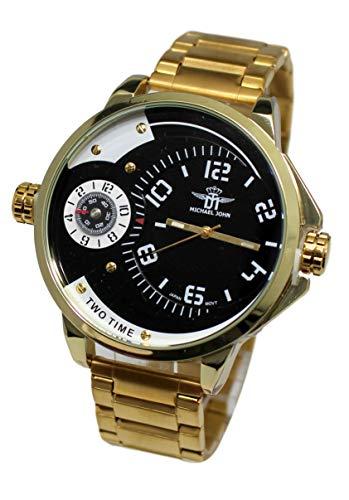 Ernest ch43 - Reloj para Hombres, Correa de Metal