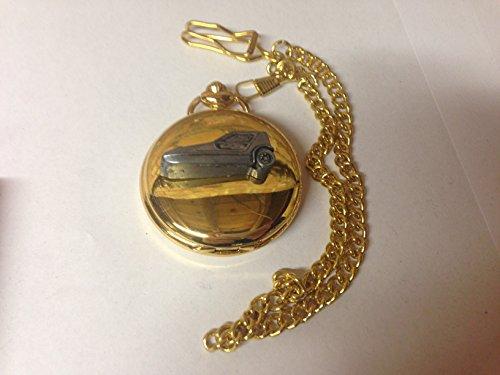 Bond Bug ref33 emblema de coche con efecto peltre en una caja de oro pulido para hombre regalo de cuarzo reloj de...