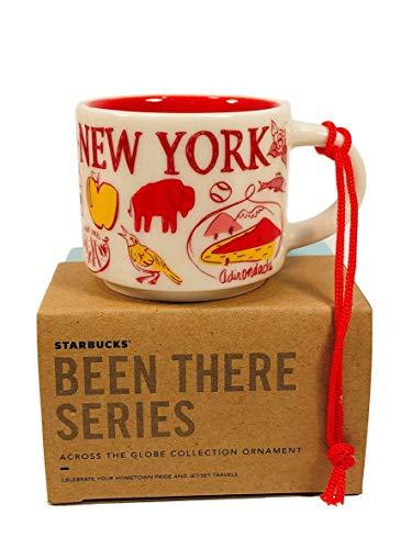 Starbucks Been There Series New York Ceramic Demitasse Ornament Mug, 2 Oz
