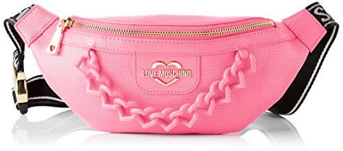 Love Moschino, Marsupio da Donna, Collezione Estate Riñonera para mujer, colección Primavera Verano 2021, Rosa, Talla única
