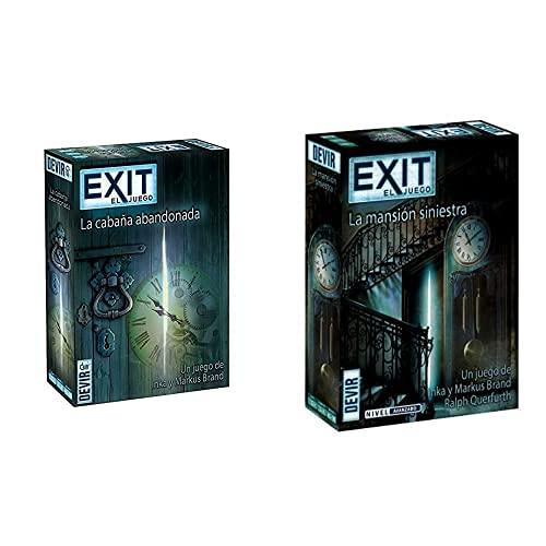 Devir - Exit: La Cabaña Abandonada, Ed; español (Bgexit1)+ Exit 11, La Mansión Siniestra (Bgexit11)