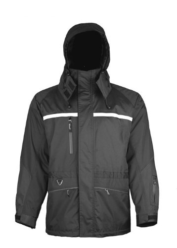 D6329JG Firewall Viking Professional Journeyman Hi-Vis Waterproof Rain Jacket Alliance Mercantile Inc.