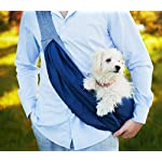 BuddyTastic Pet Sling Carrier Dog Bag | Reversible and Hands-Free | Adjustable Strap and Pocket | Comfortable Travel with Dog Cat Puppy | Up to 15 lbs 8