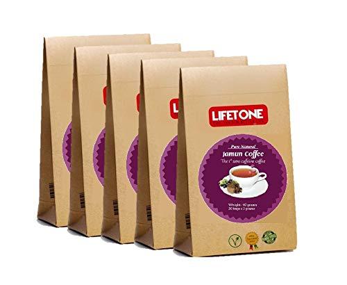 lifetone the tea for better life 200g JAMUN Samen Abnehmen Kaffee   Detox Diät Gewichtsverlust   Yoga Formel Alternative   100 SACHETS, 200G