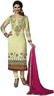 Sinina Georgette Salwar Kameez Suit Semi Stitched Dress Material