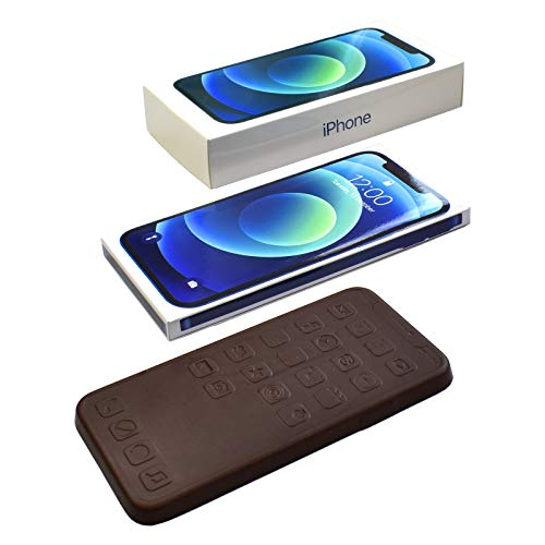 iPhone 12 Blue, Chocolate Gift Set, 1 Box, Dark Chocolate