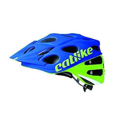 Catlike Leaf 2C Casco de Ciclismo, Unisex Adulto, Verde/Azul, S/51-53