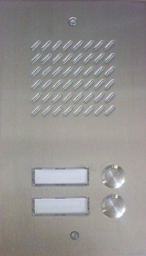 Türsprechanlage TLT 06/2 Comfort INOX (Edelstahl) Balcom-CTC